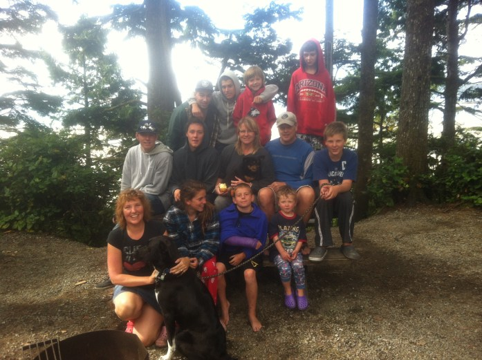 Our families still gather in the summer to camp - well, as much as we still can.