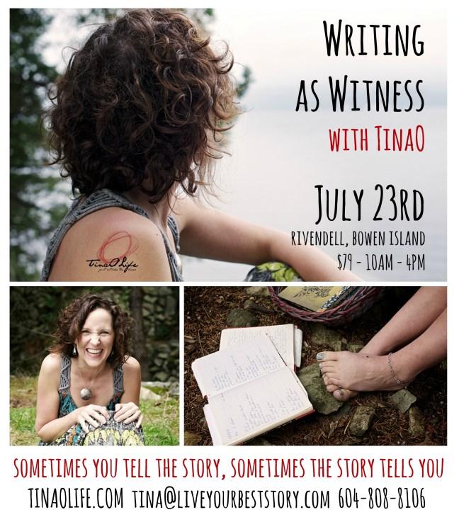 Writing as Witness