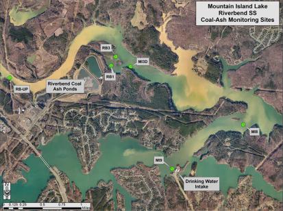 Mountain Island Lake - Riverbend Ash Coal Ponds