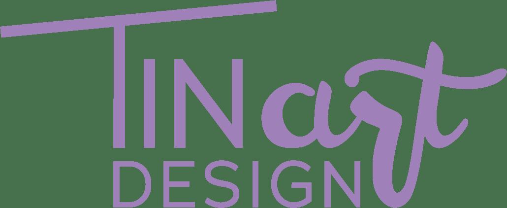 TINart.DESIGN Logo Lila