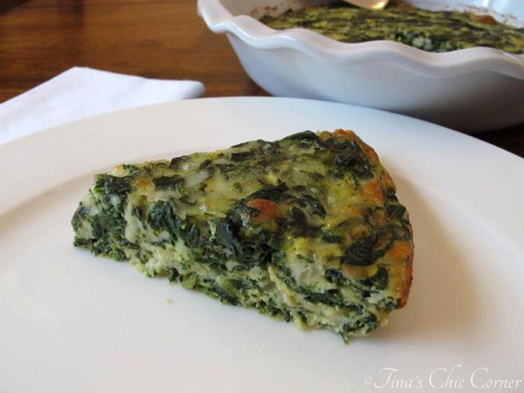 04Crustless Spinach Quiche