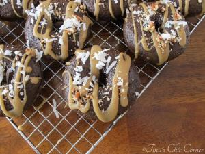 07German Chocolate Cake Doughnuts