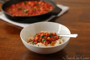 05Tomato Chickpeas with Dried Fig Infused Rice