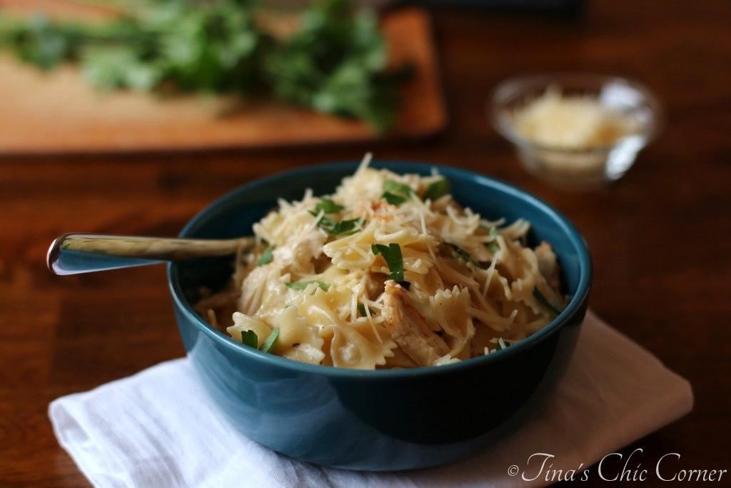 Pasta With Kale Sauce  Tinas Chic Corner