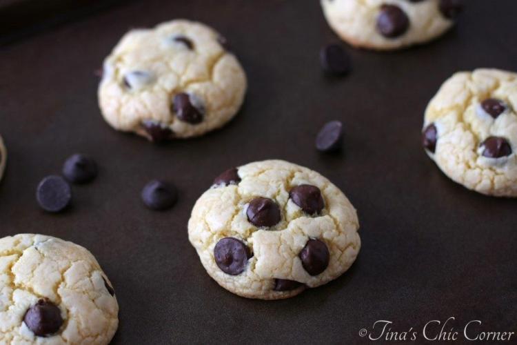 03Cake Mix Dark Chocolate Chip Cookies