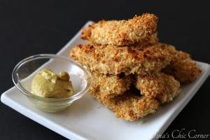 04Crispy Baked Chicken Fingers