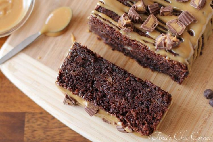 08Double Chocolate Banana Bread with Peanut Butter Icing