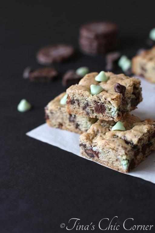 11Double Mint Cookie Bars