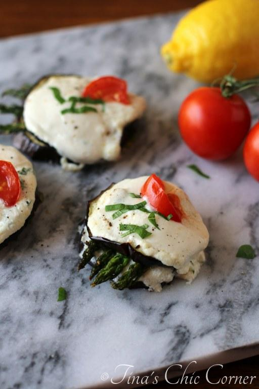 06Eggplant and Asparagus Napoleons