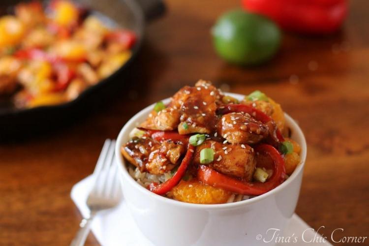 08Thai Sweet Chili Chicken and Mandarin Oranges