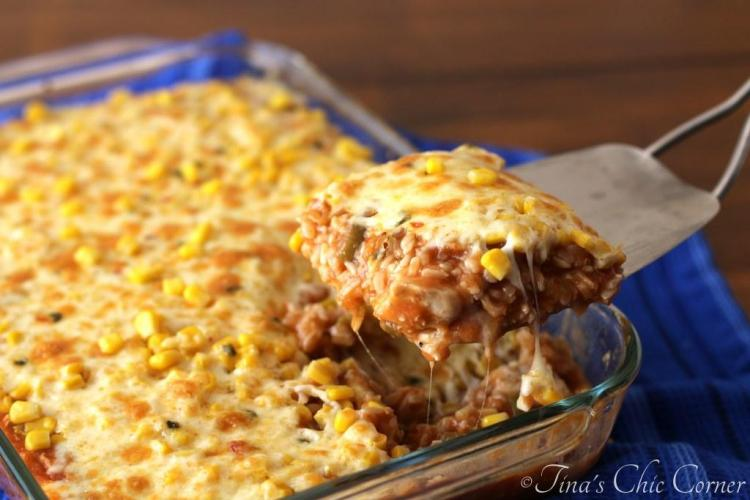 02Chicken and Rice Enchilada Casserole