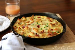 08Bacon, Egg, And Cheese Skillet Strata