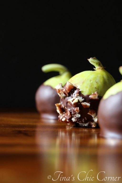 13Chocolate Dipped Fresh Figs