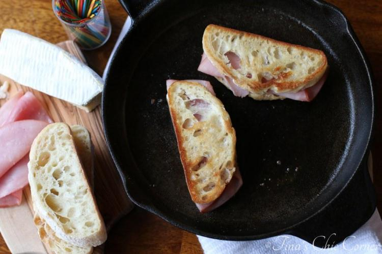 Grilled Ham and Brie01