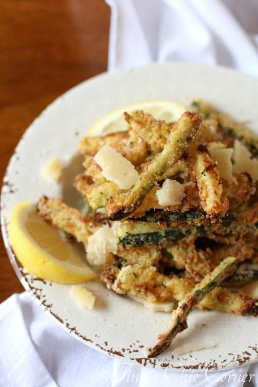 Baked Parmesan Zucchini Fries05