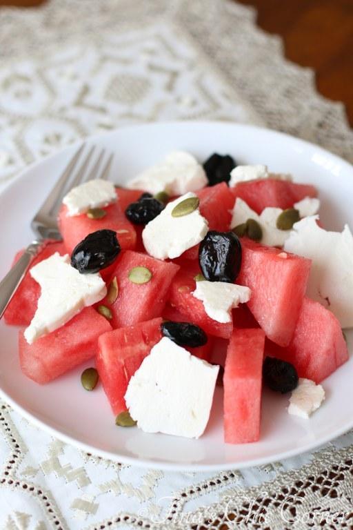 Watermelon &Feta Salad03