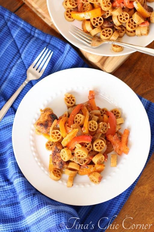 Chicken Fajita Pasta04