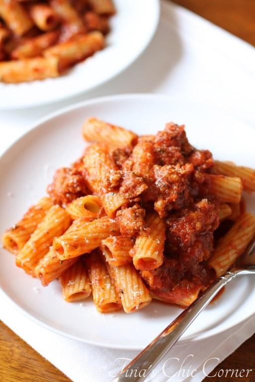 Spicy Sausage and Pasta01