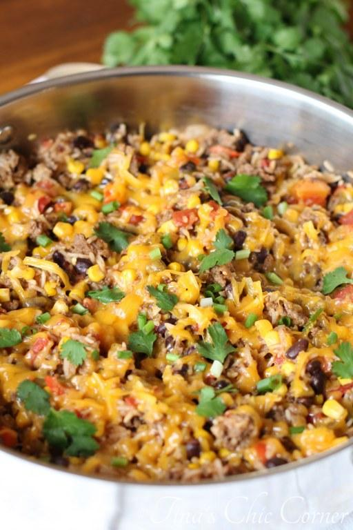 One Pot Burrito Bowls01