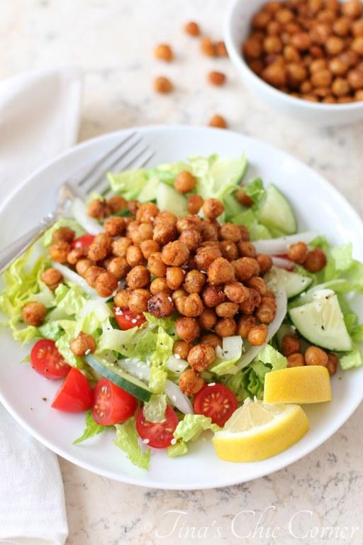 Falafel Spiced Roasted Chickpea Salad03