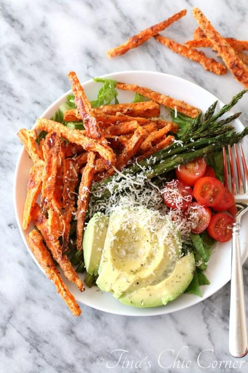 Baked Parmesean Carrot Fries05