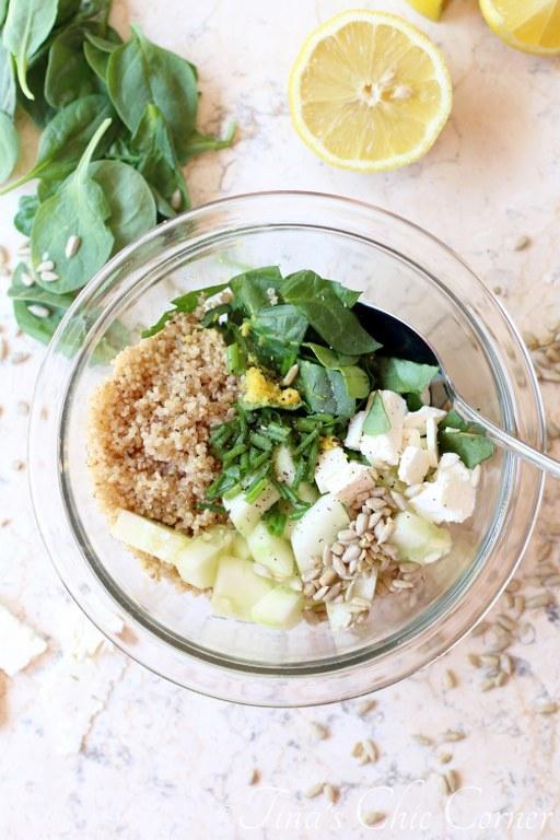 Cucumber Quinoa Spinach Salad02