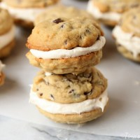 Chocolate Chip Cookie Whoopie Pies