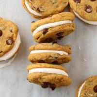 Pumpkin Chocolate Chip Cookie Whoopie Pies