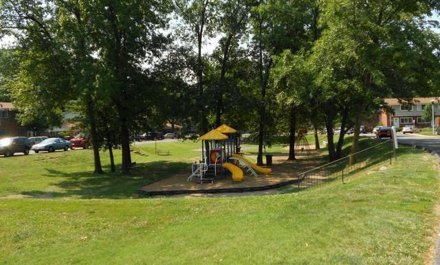 Carroll Wood Park - inside the community
