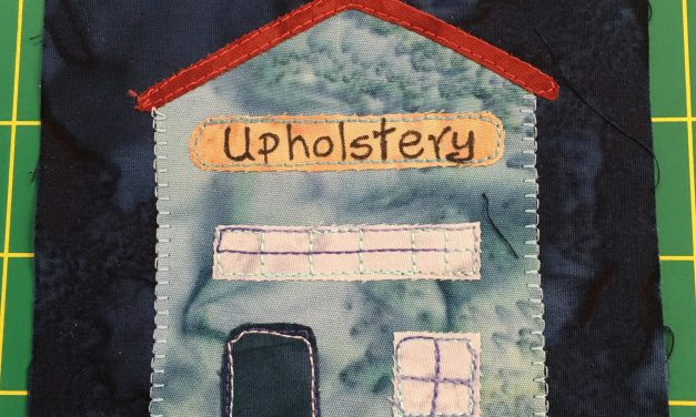 Block-A-Day 12 – Upholstery