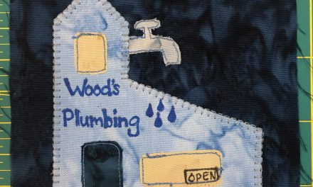 Block-A-Day 19 – Wood's Plumbing