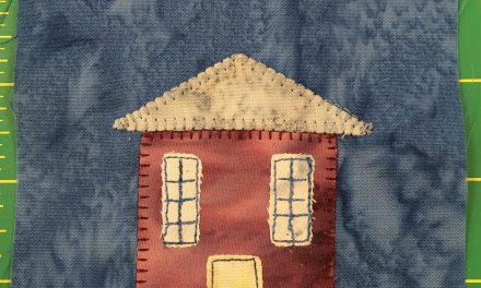 Block-A-Day 33 – The Odd House