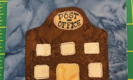 Block-A-Day 50 – The Post Office
