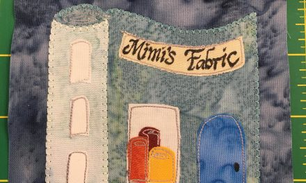 Block-A-Day 75 – Mimi Chagnon's Fabric