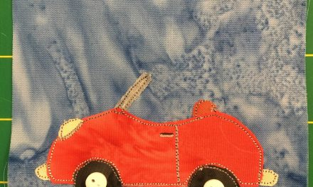 Block-A-Day 122 – The Baby Car