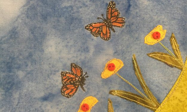 Block-A-Day 196 – The Monarch Butterfly