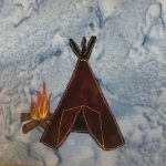 Block-A-Day 267 – The River Run Teepee