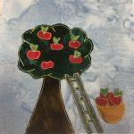 Block-A-Day 292 – The Apple orchard