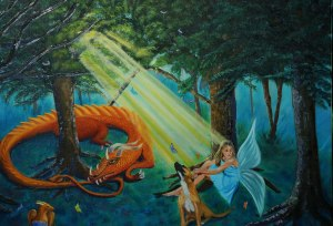 Fairy and Dragon