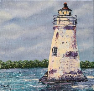 Cocksupr Lighthouse Painting