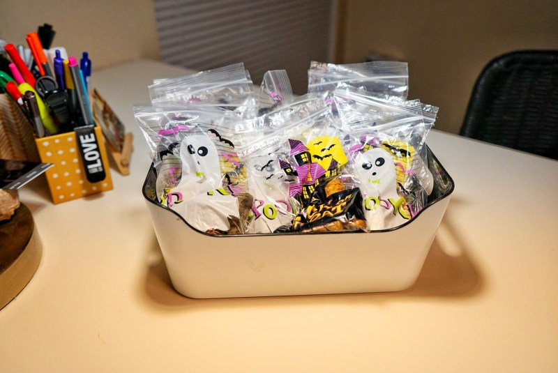 Dog Halloween Treat Bags