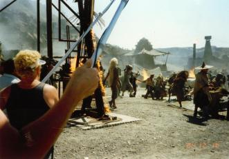 Mad Max Thunderdome - Tina Turner - Shooting on Location 1985 11
