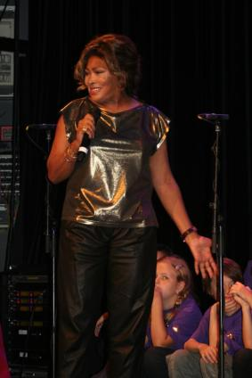 Tina Turner - Children Beyond press conference set 2 - Zurich, Switzerland - September 28, 2011 - 32
