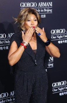 Tina Turner - Giorgio Armani One Night Only - Beijing, China - May 31, 2012 (20)