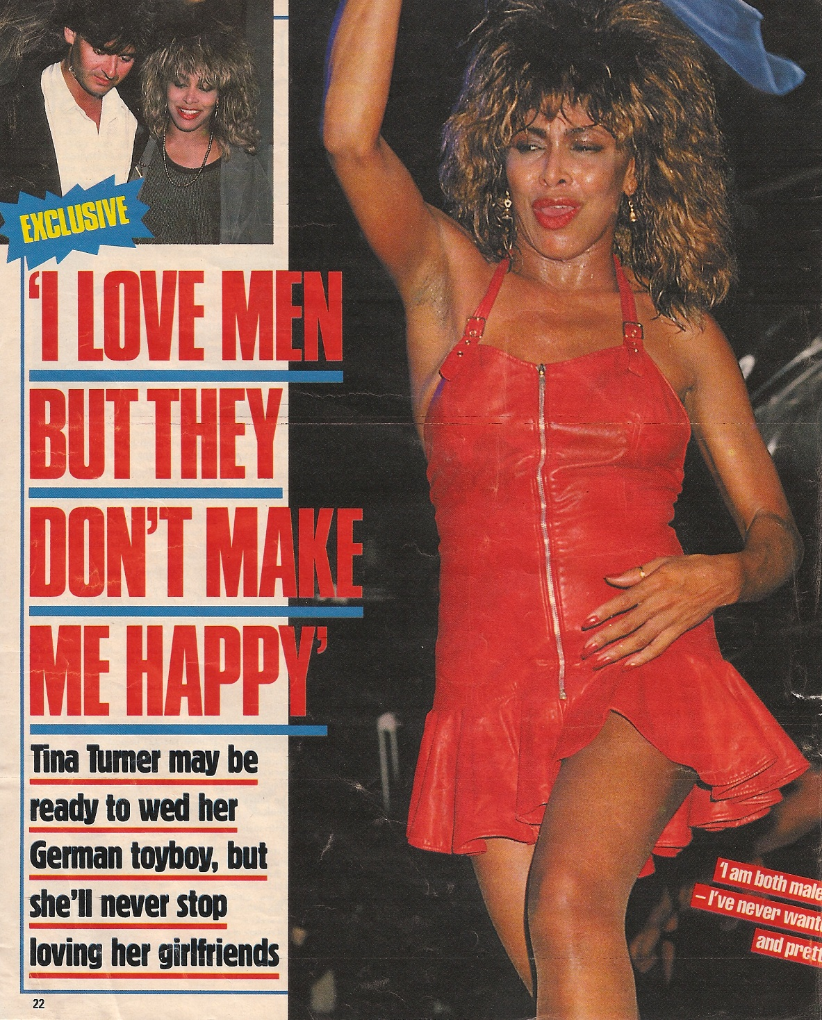 """I will make Tina happy"" says Erwin 