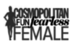 Cosmopolitan Fun Fearless Female logo