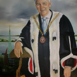 'The Mayor - Peter Natrass' by Tina Wilson