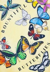 Poster design - Bountiful Butterflies