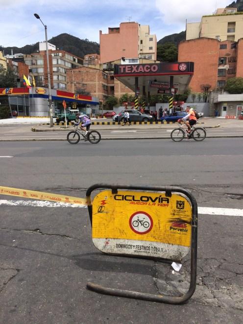 Ciclovia (car-free Sunday)
