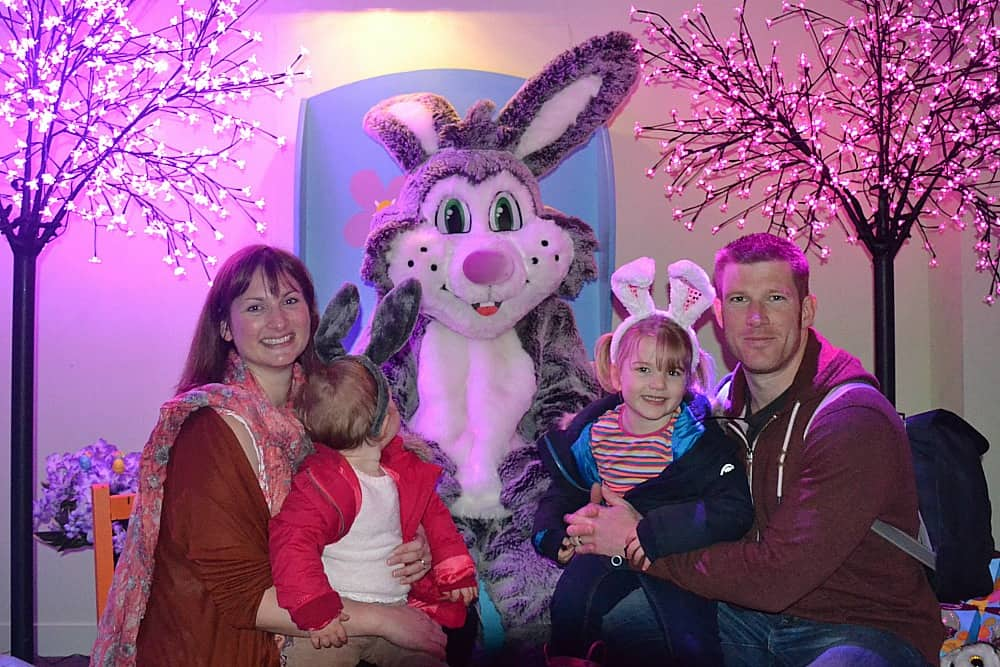 Easter In Devon Meeting The Easter Bunny At Woodlands
